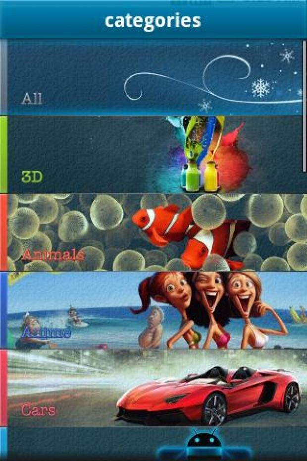 Wallpapers HD Ekran Görüntüsü